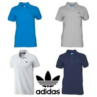 New Mens Adidas Originals Pique Polo Shirt T-Shirt Top Tee T Shirts S M L XL