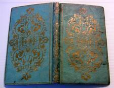1856 ADRIEN ET EMILE +JOLI CARTONNAGE BLEU & OR+ENFANTINA CONSEILS LETTRES LIVRE