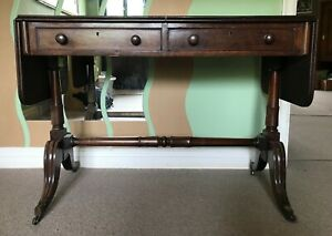 Early Victorian Mahogany Sofa Table