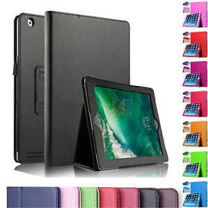 "For Apple iPad 10.2"" 7th Gen 2019 iPad Air 3 10.5 2017 Leather Smart Cover case"