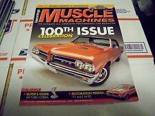 HEMMINGS MUSCLE MACHINES JAN. 2012