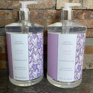 (2) CST- Fresh Lilac-Luxury Hand Wash Soap Pumps-Jumbo 26 oz-Gentle