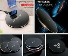 10W QUICK FAST CHARGER WIRELESS CHARGING PAD FOR ALL WIRELESS ENABLED PHONES UK