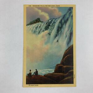 Vintage Postcard Idaho Shoshone Falls