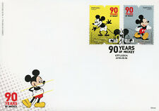 Portugal 2018 FDC Mickey Mouse 90 Yrs 2v Cover Disney Cartoons Animation Stamps