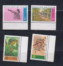 Vietnam  ( Vietcong ) Mi.# 15-18 Patriotic Paintings set 4 stamps Cat Euro 20.00