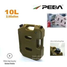 10L Jerry Can Portable Gas Tank Oil Fuel Cans for SUV ATV UTV Car Motorcycle