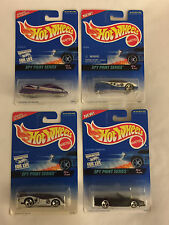 Complete Set of SPY PRINT Series - 1996 Hot Wheels cars - Mint on Card