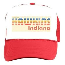 Stranger Things HAWKINS INDIANA HAT Cap Halloween Costume Retro 80s Vintage Cap