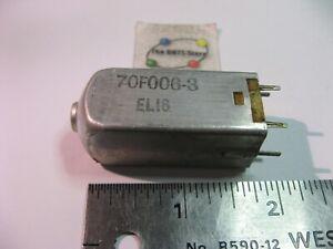 70F006-3 ELI6 EL16 Radio Coil RF Transformer Tunable Adjustable Used Pull Qty 1