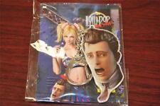 NEW! Lollipop Chainsaw Keychain Boyfriend Nick Head X360 PS3 Combine Shipping
