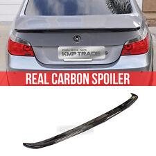 Real Carbon Fiber Rear Trunk Spoiler M5 Type For BMW 2004-2008 5Series E60 Sedan