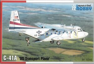 Special Hobby C-41A 'US Transport Plane' in 1/72 385 ST