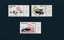 - Monaco  automobiles du prince   2002    num: 2369/71 **