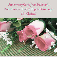 Hallmark, American Greetings, & Popular Greetings Anniversary Cards: 80+ Choices