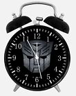 """Transformers Alarm Desk Clock 3.75"""" Home or Office Decor W200 Nice For Gift"""