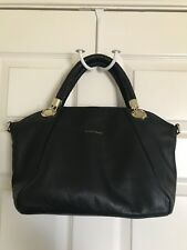 Cole Haan Black Leather Handbag Excellent Condition