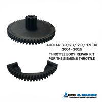 AUDI A4 1.9 2.0 2.7 3.0 Tdi 2004 - 2015 Throttle Body Actuator Gear Repair Kit