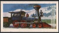 1848 Milwaukee and Waukeshaw RR Train Engine 60+ Y/O Ad Trade Card