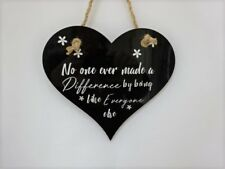 The Greatest Showman Inspirational Quote Heart Plaque, Wall Sign/Friend Gift