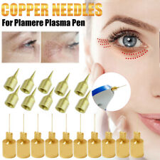 10Pcs Copper Needles For Laser plasma pen Eyelid lifting Pen Mole Remover Care
