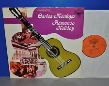 Carlos Montoya Flamenco Holiday Tradition Records M- Vinyl LP cleaned gereinigt