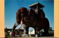 Vintage 1970's Lucy the Margate Elephant, New Jersey NJ Postcard