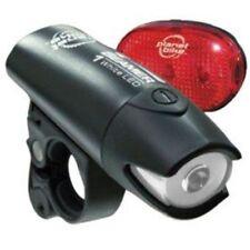 Planet Bike Lt4055 Beamer 1 and Blinky 3 LED Bicycle Light Set