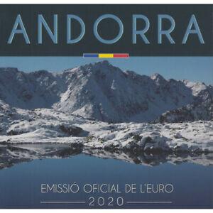 Série officielle des Euros BU Andorre 2020.