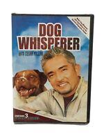 2006 New Sealed Dog Whisperer DVD~Volume 2~Cesar Millan~3 Episodes~Dog Training