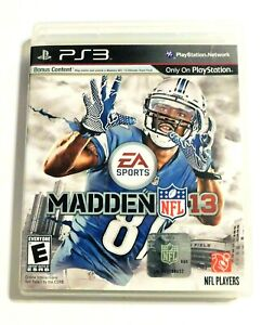 Madden NFL 13 (Sony PlayStation 3, 2012) EA Sports