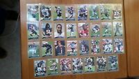 2009 Topps Football Gold Lot 31 Different #d /2009 with Rookie RC All Listed