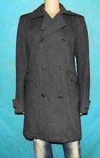 manteau DIESEL taille XXL en laine melangé gris COMME NEUF