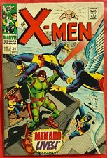 X-Men 36 Marvel Silver Age 1967 Mekano Lives
