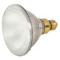 Satco S2248 PAR38 Halogen Flood 30 Degrees Clear Light Bulb Dimmable