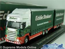 EDDIE STOBART SCANIA R440 TRUCK LORRY MODEL DRAWBAR 1:76 SIZE OXFORD CALISTA K8