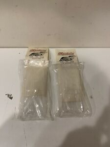 2 NOS JK PRODUCTS 1/24 GODZILLA ZZ TOP BODY FOR EXTENDED CHASSIS CLEAR BODY