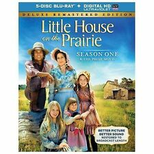 Little House on the Prairie - Season 1 (Blu-ray Disc, 2014, 5-Disc Set, Includes