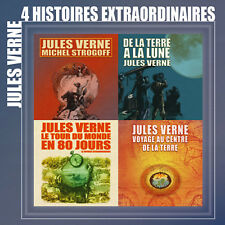 Coffret 4 CD 4 Histoires extraordinaires de Jules Verne