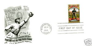 4341 Take Me Out to the Ball Game ArtCraft FDC