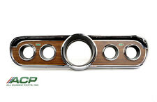 1965 1966 65 66 Ford Mustang Woodgrain Instrument Bezel Deluxe New FREE SHIPPING