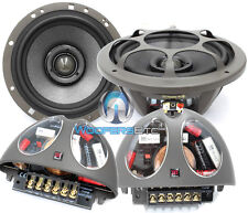 "MOREL HYBRID INTEGRA 602 6.5"" CAR 2-WAY COMPONENT SPEAKERS CROSSOVERS MIDS NEW"