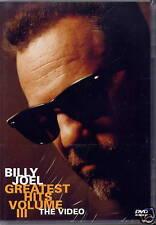 BILLY JOEL - GREATEST HITS Vol. III - THE VIDEO (NEU)