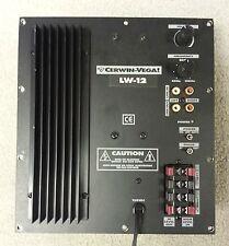 Cerwin Vega LW-12 Powered Subwoofer Amplifier Plate Repair Service