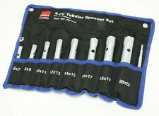 8pc tubular box wrench set spark plug plumber wrench Hilka QUALITY tool 6mm 22mm