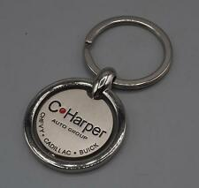 C. Harper Auto Group Chevy Cadillac Buick Advertising Key Ring Key Chain