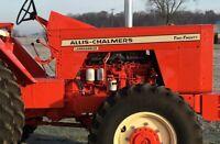 Allis Chalmers AC 220 Decal Set  Landhandler Vinyl
