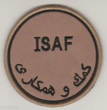 ISAF. AFGHANISTAN. NATO forces patch DESERT 'N' VLCRO