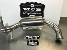 SKI DOO 850 ETEC MBRP TRAIL SILENCER 132T207 EXHAUST 2017 2018 STAINLESS STEEL