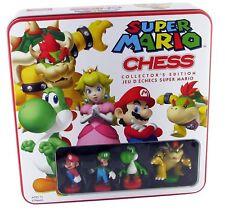 Genuine Official Nintendo Super Mario Bros Chess Set Jeu rare objet de collection-Neuf
